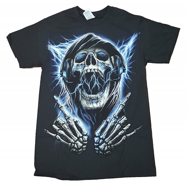 Grim Reaper Rocks Graphic T Shirt