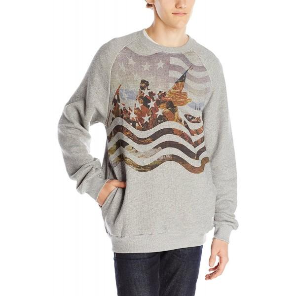 Crooks Castles Mens Knit Sweatshirt