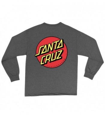 Santa Cruz Classic Long Sleeve Charcoal