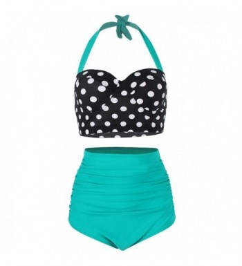 FeelinGirl Waisted Bikinis Swimsuits Swimwear