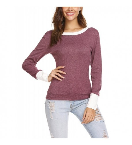ANGVNS Sleeve Pullover Casual Sweater