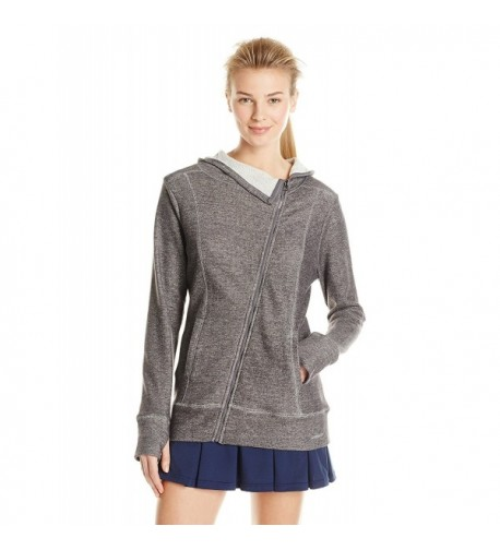 HEAD Womens Asymmetric Charcoal Heather