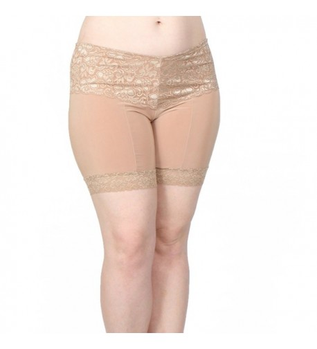 Undersummers High Thigh Lace Shortlette