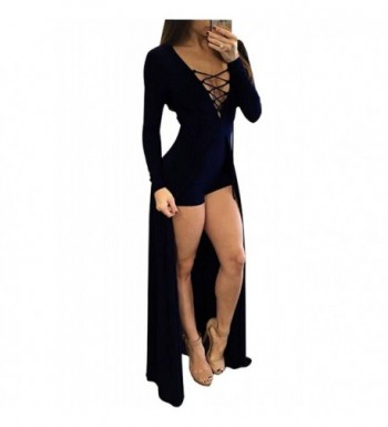 Aro Lora Womens Overlay Jumpsuit
