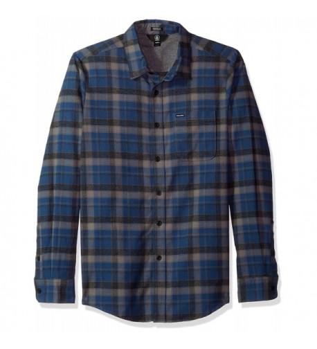 Volcom Classic Flannel Sleeve Smokey