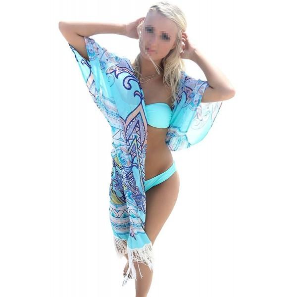 DxnonaWomens Fashion Beach Tassel Cover