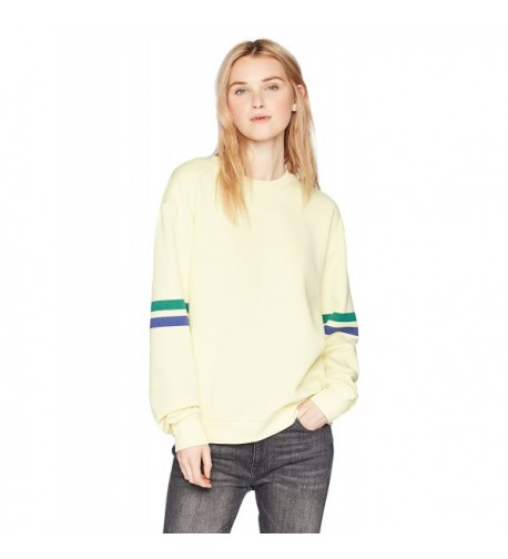Hayden Rose Womens Striped Sweatshirt