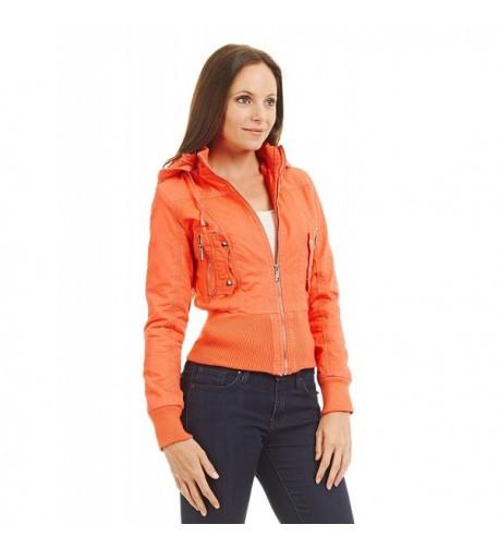 WJC1004 Womens Casual Fleece Removable