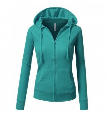 J TOMSON Womens Casual Thermal PEACOCK