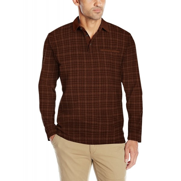 Arrow Long Sleeve Jaspe Sienna 2X Large