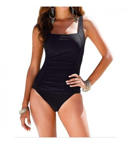 Mycoco Shirred Swimsuit Swimwear 12
