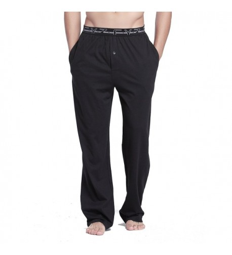 CYZ Cotton Jersey Pajama Pants Black M