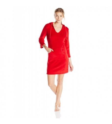 Nautica Sleepwear Womens Hooded Chemise