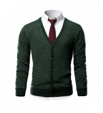 Discount Real Men's Cardigan Sweaters for Sale