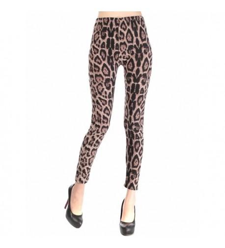 Beloved1314 Leopard Printed Lightweight Leggings