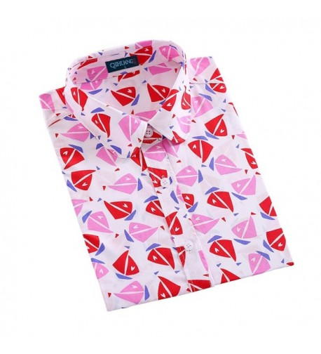 QIHUANG Women Sleeve Printed XXXXX Large