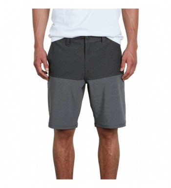 Volcom Hybrid Short Black Block