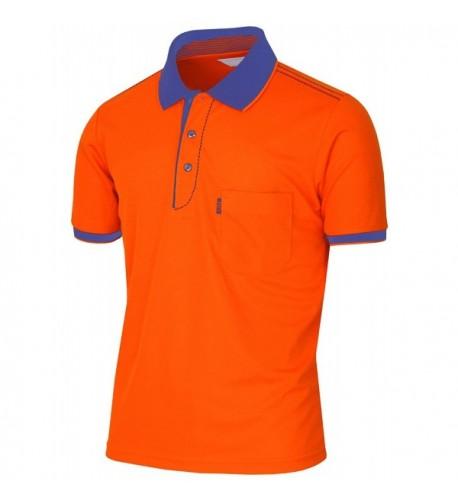 BCPOLO Athletic Dri Fit Sleeve Shirt orange