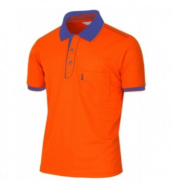 BCPOLO Athletic Dri Fit Sleeve Shirt orange