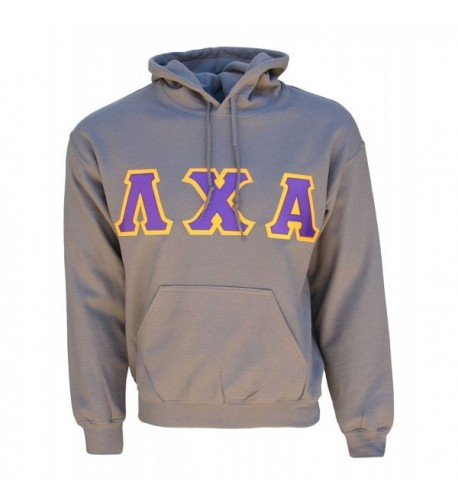 Greek Lambda Hooded Sweatshirt XX Large