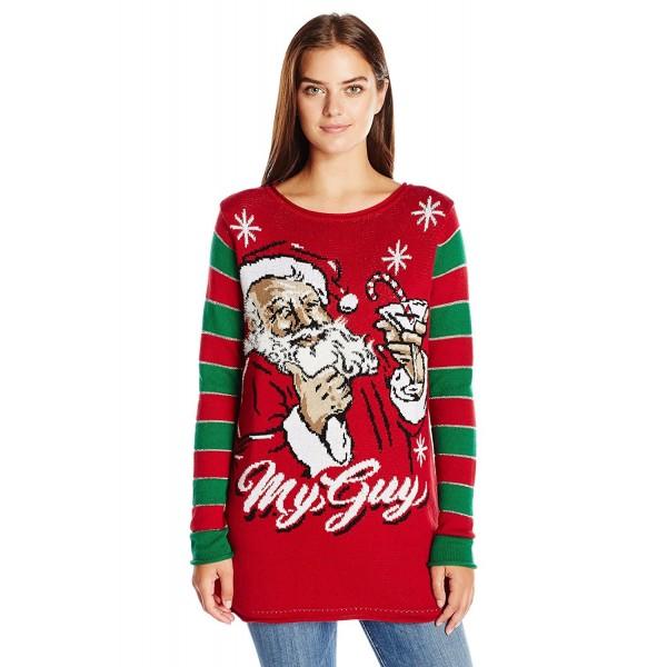 Christmas Sweater Womens.Ugly Christmas Sweater Women S My Kind Of Guy Santa Sweater Cayenne Cj12k9ptbk7