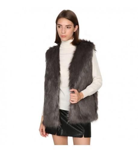 Dikoaina Women Waistcoat Winter Jacket