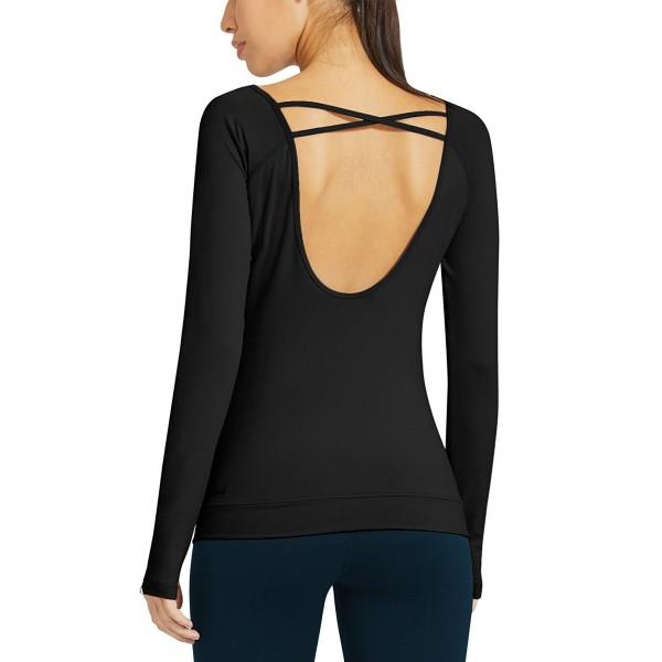 Baleaf Womens Sleeve Workout Shirts