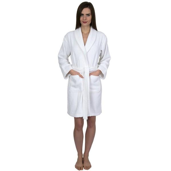 4e4275de43 Women s Robe- Turkish Cotton Short Terry Bathrobe Made in Turkey ...