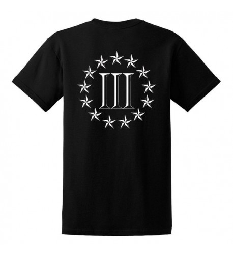 GunShowTees Three Percenter Shirt X Large