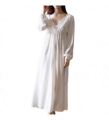 78192ca438 Asherbaby Womens Vintage Nightgown Sleepwear  Women s Nightgowns On ...