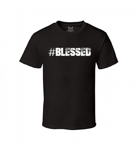Gs eagle Printed BLESSED Graphic T Shirt