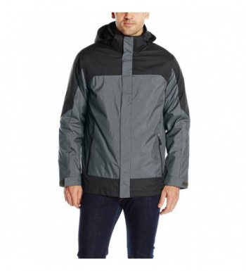 32Degrees Weatherproof Systems Colorblock Charcoal