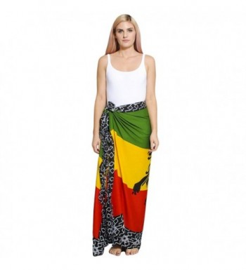 Womens Rasta Summer sarong Wraps one