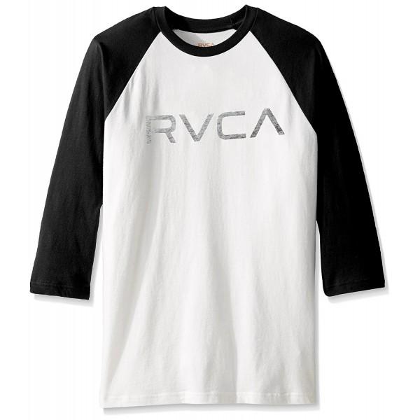 RVCA Mens Raglan Black Antique