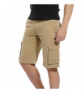 DONSON Multi Pocket Shorts Casual Cotton