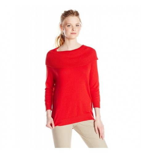 Chaus Womens Marilyn Sweater Rouge