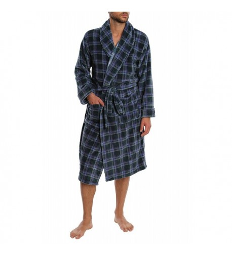 Top Shelf Mens Sleepwear Bathrobe