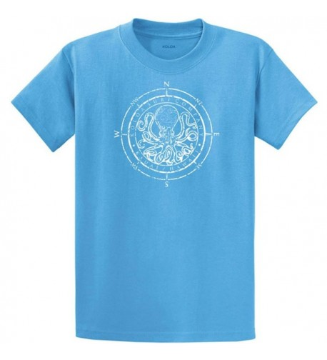 Koloa Octopus Heavy Cotton T Shirt Aquatic