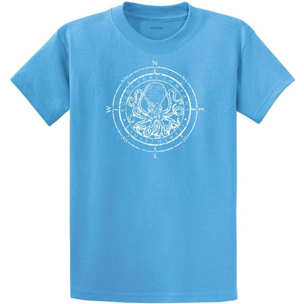 9df433d68 Mens Heavy Cotton T-Shirts in Regular- Big & Tall - Aquatic/W ...