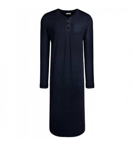 Langle Lightweight Sleeve Sleepwear Nightshirt