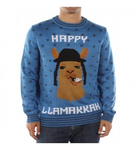 Tipsy Elves Llamaka Hanukkah Sweater