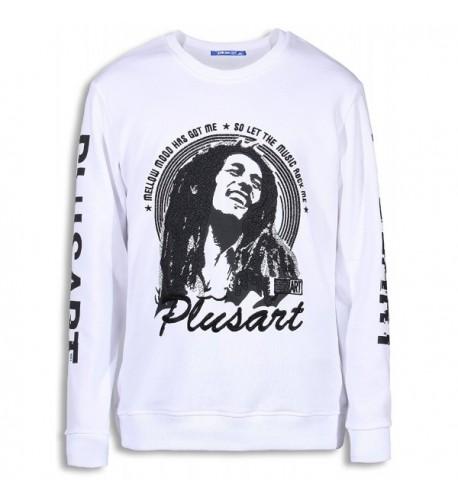Plusart Graphic Sweatshirt Printed Pullover