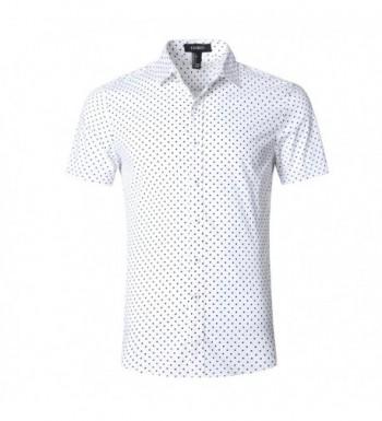 GILBETI Casual Cotton Sleeve Shirts