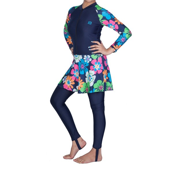 e446e29472 HB Farasha Ladies Modest Swimwear One Piece Modest Swimsuit Surfing ...