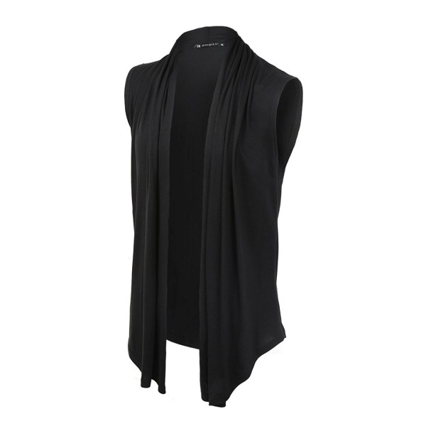 Allegra Front Sleeveless Asymetric Cardigan