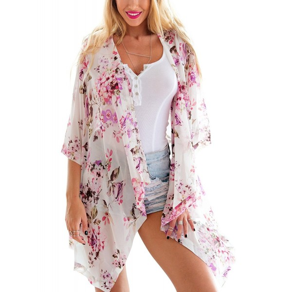 Grapent Sleeves Cardigan Blouses Beachwear