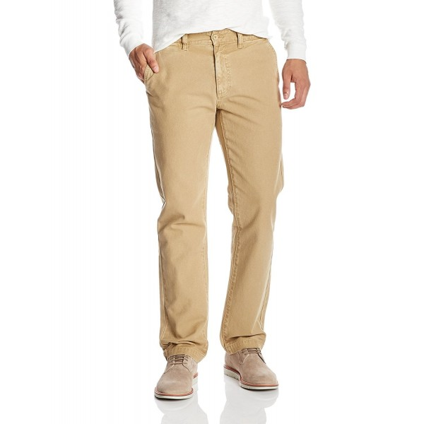 Mens Cotton Relaxed Fit Chino Pant Quality Durables Co
