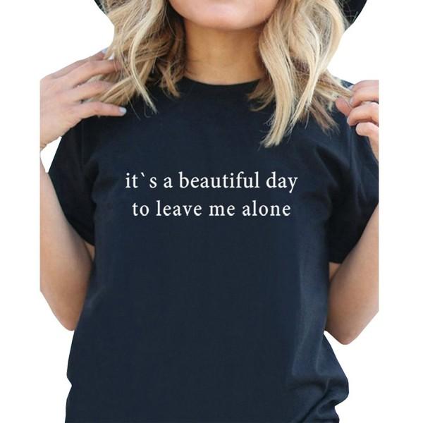 9d72d1bd ... T Shirt - Black - C912ODTWU76. BLACKMYTH Womens Casual Graphic Fashion
