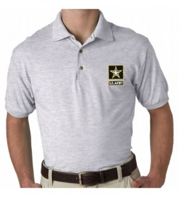 U S Army Embroidered Polo Shirt