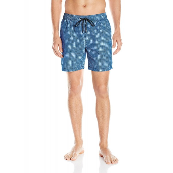 Mr Swim Houndstooth Trunk Light